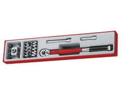 Teng TTX3892 Torque Wrench Set, 22 Piece - 3/8in Drive