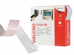 VELCRO® Brand VELCRO® Brand Stick On Tape 20mm x 10m White