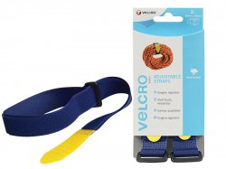 VELCRO® Brand VELCRO® Brand Adjustable Straps(2) 25mm x 92cm Blue
