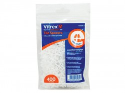 Vitrex Essential Tile Spacers 3mm Pack of 400