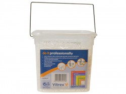 Vitrex Wall Tile Spacers 2.5mm Pack of 3000