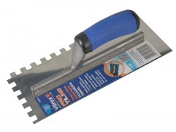 Vitrex Professional Notched Adhesive Trowel 10mm Stainless Steel 11in x 4.1/2in