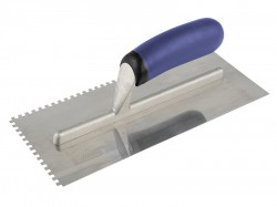Vitrex Professional Notched Adhesive Trowel 4mm Stainless Steel 11in x 4.1/2in