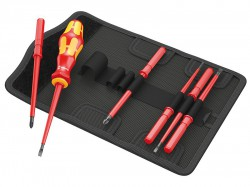 Wera Kraftform VDE Kompakt Interchangeable Screwdriver Set of 7 SL / PH