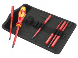 Wera Kraftform VDE Kompakt Screwdriver Set - Interchangable 7 Piece