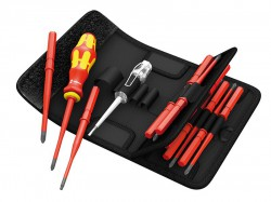 Wera Kraftform Kompakt Slimline VDE Screwdriver Set of 16 SL PZ PH +- TX