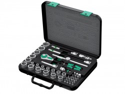 Wera Zyklop Socket Set of 43 Top 3/8in Drive