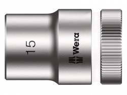 Wera Zyklop Socket 1/2in Drive 15mm