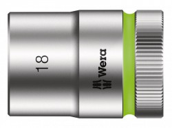 Wera Zyklop Socket 1/2in Drive 18mm