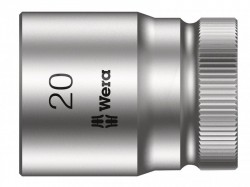 Wera Zyklop Socket 1/2in Drive 20mm