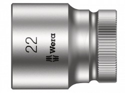 Wera Zyklop Socket 1/2in Drive 22mm
