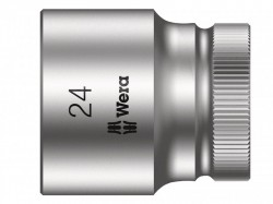 Wera Zyklop Socket 1/2in Drive 24mm