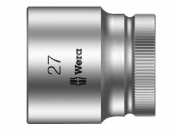 Wera Zyklop Socket 1/2in Drive 27mm