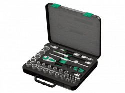 Wera Zyklop Socket Set of 37 Metric 1/2in Drive