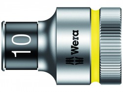 Wera 8790 HMC HF Zyklop Bolt Holding Socket 1/2in Drive x 10mm Hex