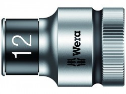 Wera 8790 HMC HF Zyklop Bolt Holding Socket 1/2in Drive x 12mm Hex
