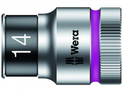 Wera 8790 HMC HF Zyklop Bolt Holding Socket 1/2in Drive x 14mm Hex