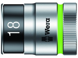 Wera 8790 HMC HF Zyklop Bolt Holding Socket 1/2in Drive x 18mm Hex