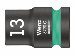 Wera 8790 C Impaktor Socket 1/2in Drive 13mm