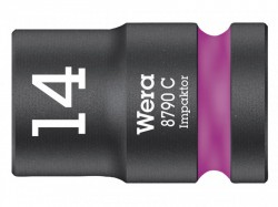 Wera 8790 C Impaktor Socket 1/2in Drive 14mm