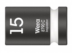 Wera 8790 C Impaktor Socket 1/2in Drive 15mm