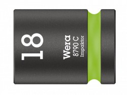 Wera 8790 C Impaktor Socket 1/2in Drive 18mm