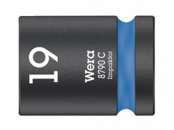 Wera 8790 C Impaktor Socket 1/2in Drive 19mm