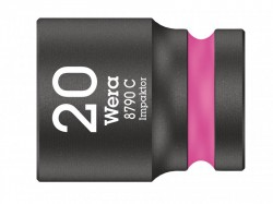 Wera 8790 C Impaktor Socket 1/2in Drive 20mm