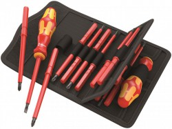 Wera Kraftform Kompakt VDE 18 Universal 2 Screwdriver Set SL/PH/PHS/PZ/PZS/SQ