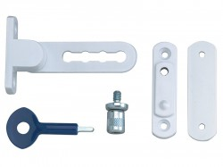 Yale Locks P117 Ventilation Window Lock White Finish Pack of 2