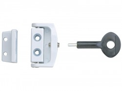 Yale Locks P113 Toggle Window Locks White Pack of 2