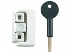 Yale Locks 8K101 Window Latch White Finish Visi
