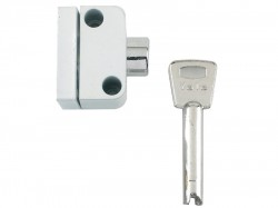 Yale Locks 8K102 Push Button Window Lock White Finish Visi