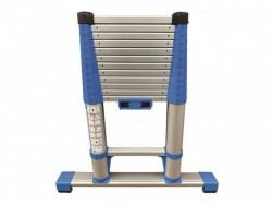 Zarges Compactstep L Telescopic Ladder & Stabiliser Bar 3.2m