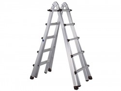 Zarges Trade 4-Part Telescopic Ladder 4 x 4 Rungs