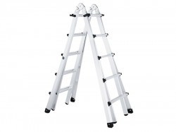 Zarges Trade 4-Part Telescopic Ladder 4 x 5 Rungs