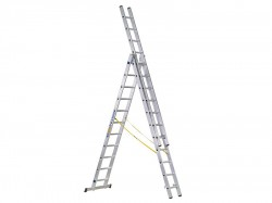 Zarges D-Rung Combination Ladder 3-Part 3 x 10 Rungs