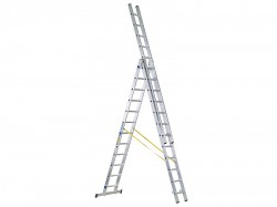 Zarges D-Rung Combination Ladder 3-Part 3 x 12 Rungs