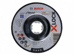 Bosch X-LOCK Expert for Metal Depressed Centre Cutting Disc 125 x 2.5 x 22.23mm