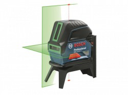 Bosch GCL 215-G Professional Self-Levelling Cross Line Laser Green