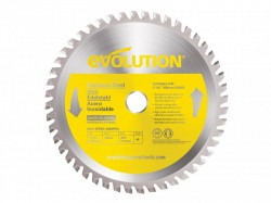 Evolution Stainless Steel Cutting Circular Saw Blade 185 x 1.8 x 20mm x 48T