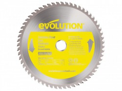 Evolution Stainless Steel Cutting Circular Saw Blade 230 x 1.8 x 25.4mm x 60T