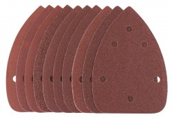 DRAPER Ten 97 x 140 x 140mm Assorted Grit Hook and Loop Sander