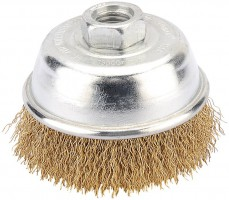 DRAPER 75mm Heavy Duty Wire Cup Brush with M14 Thread