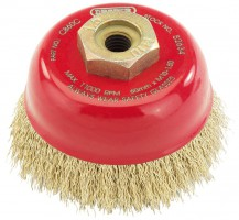 60mm X M10 Crimped Wire Cup Brush