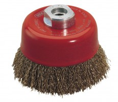 DRAPER Expert 80mm x M14 Crimped Wire Cup Brush