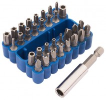 DRAPER Security Bit Set (33 Piece) (s/s 38716)