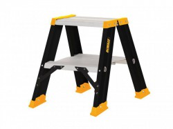 DEWALT Ladders Professional Double Step Ladder, 0.50m 2 Rungs
